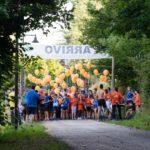 Partenza 1° Trofeo Altopiano di Pinè