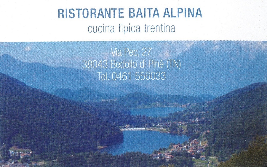 Ristorante Baita Alpina